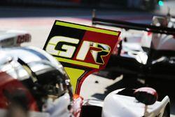 Toyota Gazoo Racing pitboard detail