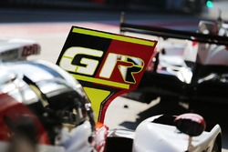 Toyota Gazoo Racing pit board detalle