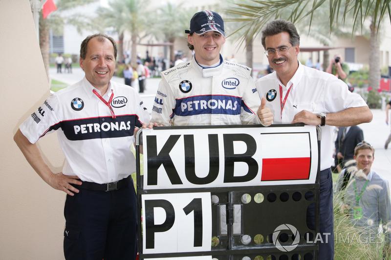 Robert Kubica (BMW Sauber): 23 años, 3 meses y 30 días