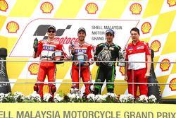 Podyum: Yarış galibi Andrea Dovizioso, Ducati Team, 2. sıra Jorge Lorenzo, Ducati Team, 3. sıra Joha