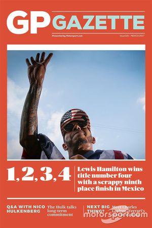 GP Gazette 021 Mexican GP cover
