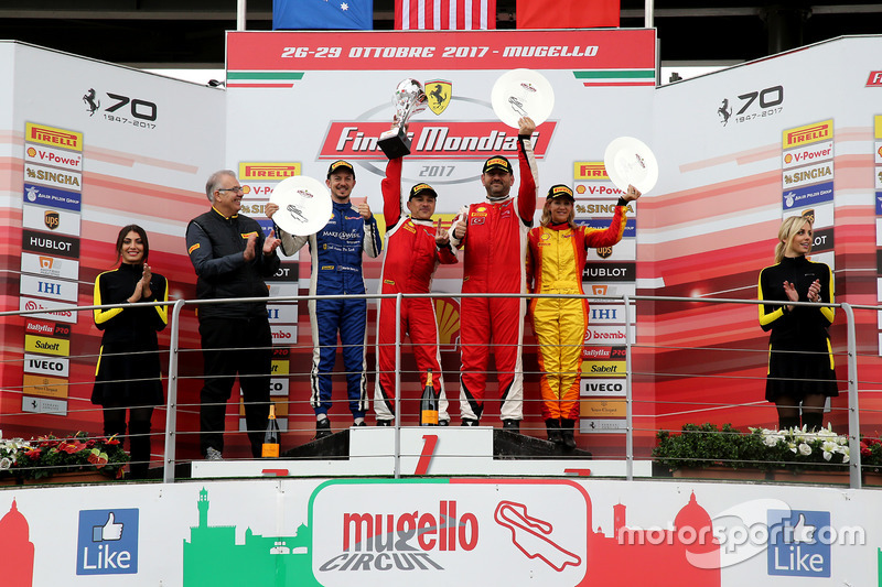 Podio Finale Mondiale Ferrari 458