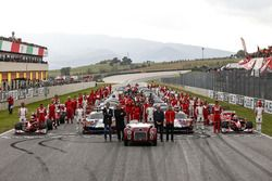 Photo de groupe Ferrari