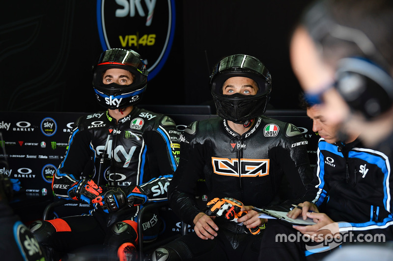 Francesco Bagnaia, Sky Racing Team VR46, Luca Marini, Sky Racing Team VR46