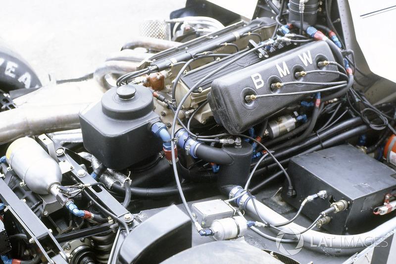 El motor turbo del Brabham BT50