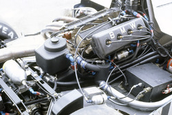 The turbocharged engine in the Brabham BT50