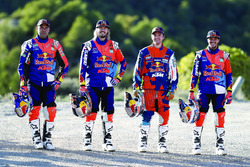 Сэм Сандерленд, Тоби Прайс и Маттиас Валькнер, Red Bull KTM Factory Team