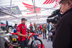#5 Monster Energy Honda Team: Joan Barreda