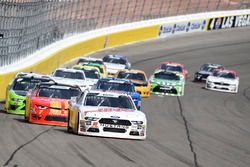Cole Custer, Stewart-Haas Racing, Ford Mustang Haas Automation, Justin Allgaier, JR Motorsports, Che
