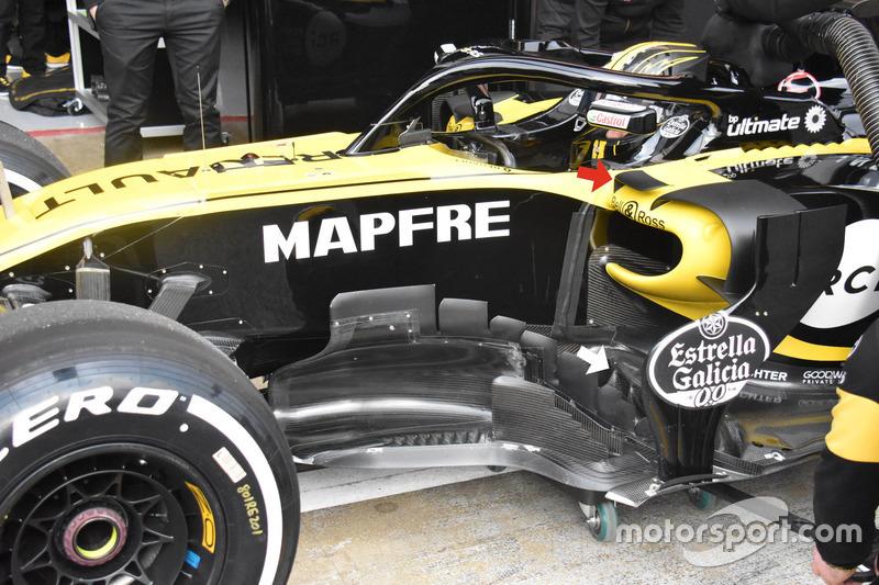 Nico Hulkenberg, Renault Sport F1 Team RS18, dettaglio