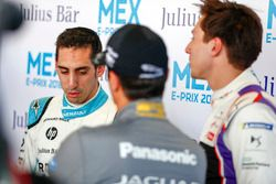Sébastien Buemi, Renault e.Dams, Alex Lynn, DS Virgin Racing, Nelson Piquet Jr., Jaguar Racing, in t