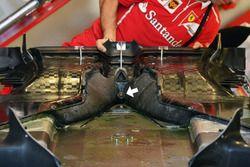 Ferrari SF70H vloer met gat starter