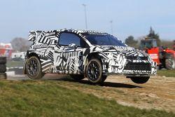 Volkswagen Polo GTi World Rallycross Supercar prueba