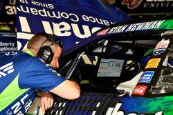 Luke Lambert crew chief for Ryan Newman, Richard Childress Racing, Liberty National Chevrolet Camaro