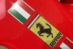 Ferrari-logo op de SF70H