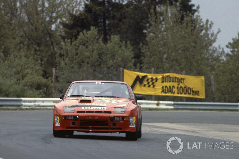 Klaus Utz, Claude Haldi, Porsche 924 Carrera GTS