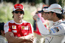 Fernando Alonso, Ferrari, Vitantonio Liuzzi, Force India