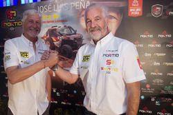 José Luis Peña y su copiloto, Rafa Tornabell