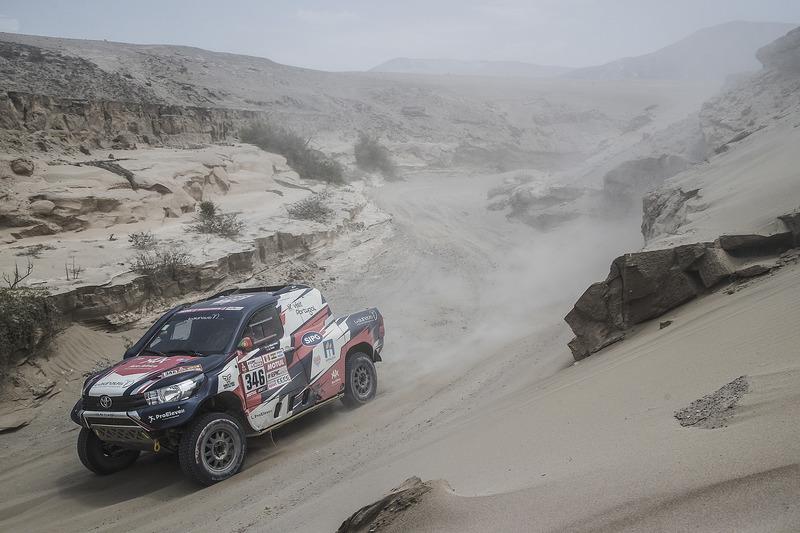 #346 Overdrive Racing Toyota: Andre Villas-Boas, Ruben Faria