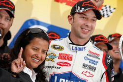 Alba Colon y Chad Knaus