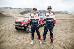 #312 X-Raid Team Mini: Jakub Przygonski, Tom Colsoul