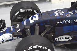 Vue détaillée de la Red Bull Racing RB14