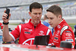 Christopher Bell, Joe Gibbs Racing, Rheem Toyota Camry Jason Ratcliff