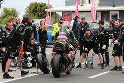 Jonathan Rea, Kawasaki Racing Pirelli lastik değişikliği