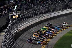 Start zu Duel 2 in Daytona 2018: Denny Hamlin, Joe Gibbs Racing Toyota Camry