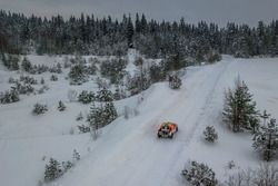 الأحداث في الثلج