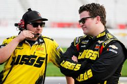 Cody Coughlin, GMS Racing, Jeg's.com Chevrolet Silverado and crew man