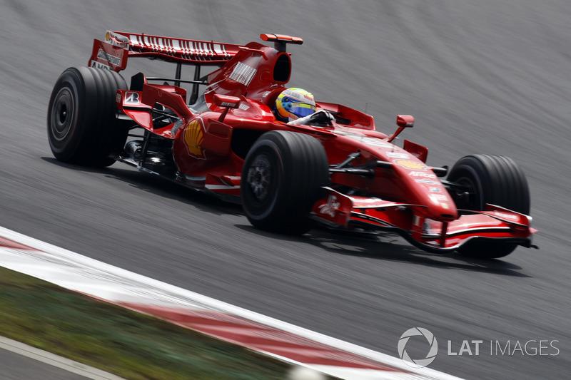 2007年:フェラーリF2007