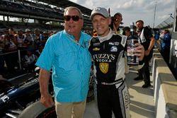 Ed Carpenter, Ed Carpenter Racing Chevrolet Verizon P1 Pole Award con Fuzzy Zoeller