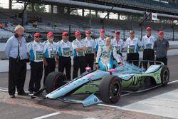 Pippa Mann, Dale Coyne Racing Honda, dopo aver mancato la qualificazione per la gara di quest'anno