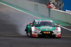 Nico Müller, Audi Sport Team Abt Sportsline, Audi RS 5 DTM after the crash
