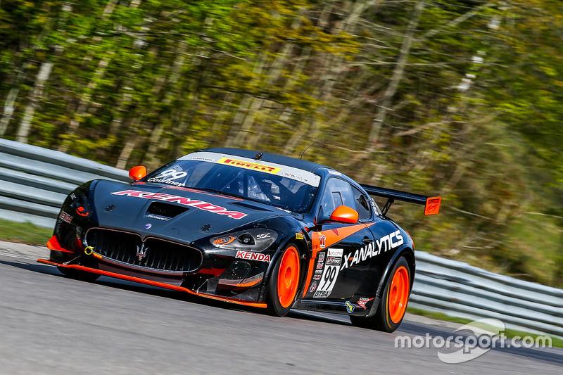 #99 JCR Motorsports Maserati Grand Turismo MC GT4: Jeffrey Courtney