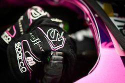 Jack Harvey, Meyer Shank Racing with SPM Honda, gloves