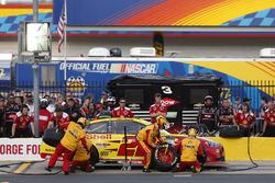 Joey Logano, Team Penske, Ford Fusion Shell Pennzoil