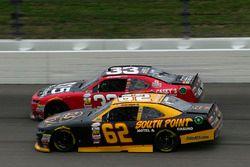Brendan Gaughan, Richard Childress Racing Chevrolet and Brandon Jones, Richard Childress Racing Chevrolet