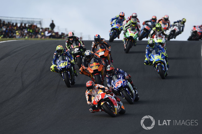 Action from Phillip Island