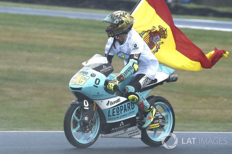 Race winner Joan Mir, Leopard Racing