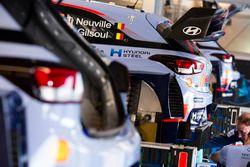 El auto de Thierry Neuville, Nicolas Gilsoul, Hyundai i20 WRC, Hyundai Motorsport