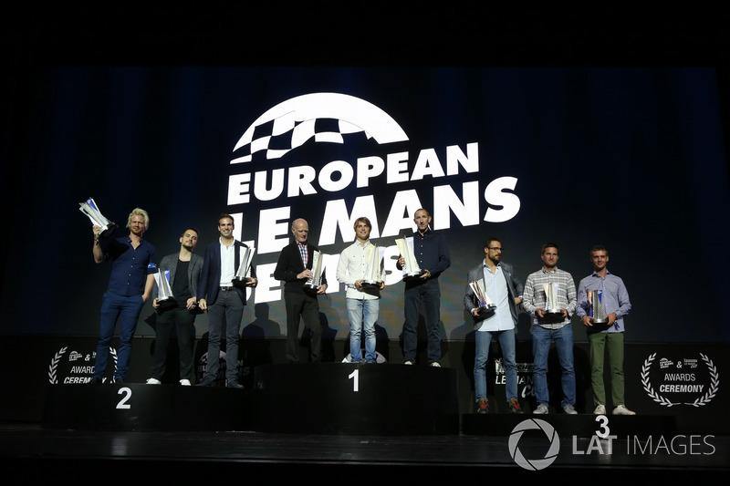 GTE winners: #66 JMW Motorsport, Ferrari F458 Italia: Robert Smith, Jody Fannin, James Dayson, #90 TF Sport, Aston Martin V8 Vantage: Salih Yoluc, Euan Hankey, Nicki Thiim, #77 PROTON Competition, Porsche 911 RSR: Christian Ried, Joel Camathias, Matteo Cairoli