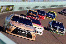 Matt Tifft, Joe Gibbs Racing Toyota, Michael Annett, JR Motorsports Chevrolet and Casey Mears, Biagi-DenBeste Racing Ford