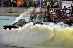 Race winner Cole Custer, Stewart-Haas Racing Ford