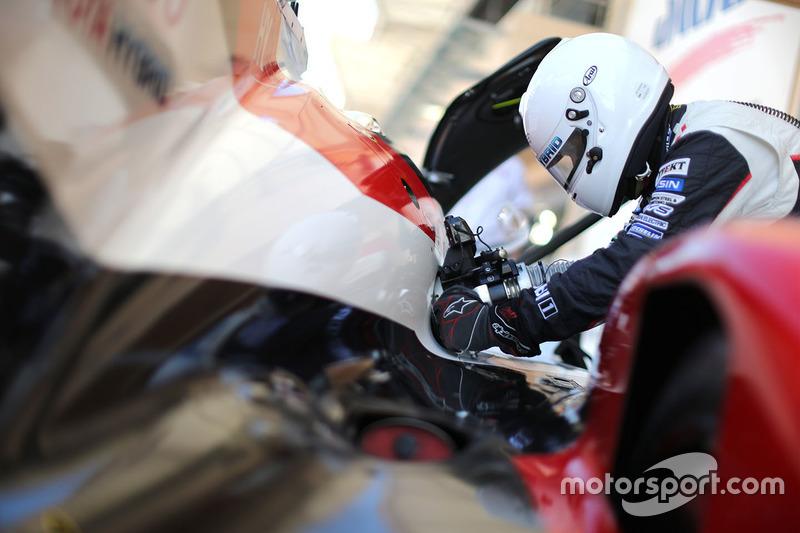 Toyota Gazoo Racing yakıt alanı