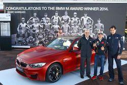 Марк Маркес и BMW M4 Coupe