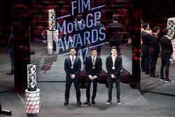 Marc Marquez, Repsol Honda Team, Andrea Dovizioso, Ducati Team, Maverick Viñales, Yamaha Factory Rac