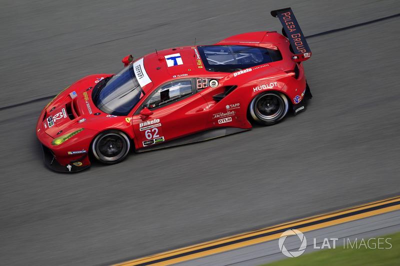 27.- #62 Risi Competizione Ferrari 488 GTE (GTLM): Toni Vilander