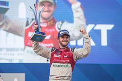 Podio: il vincitore della gara Daniel Abt, Audi Sport ABT Schaeffler
